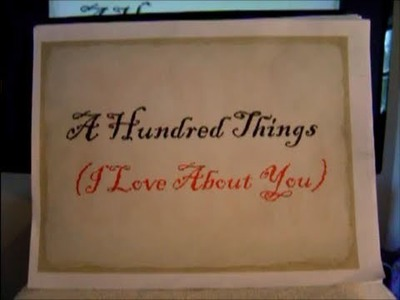 Hundred Things (I Love About You)