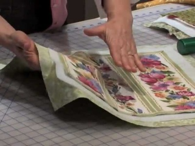 Learn Nancy's favorite techniques for basting a quilt