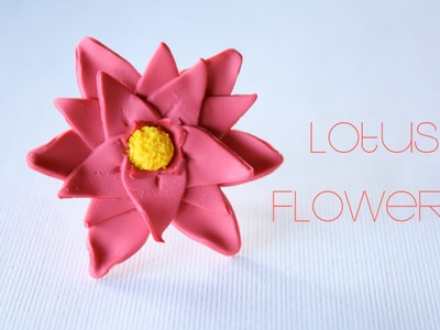 Lotus Flower - Polymer Clay Ring Tutorial