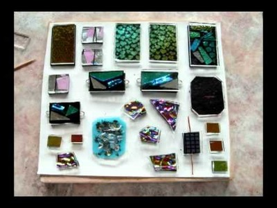 Making a Dichroic Glass Cabochon: Runner Up, Jewelry Category, Paragon Kiln Video Contest