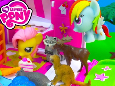 MLP Fash'ems Rainbow Dash Fluttershy Shopkins ROAD TRIP RV Camper My Little Pony Video Series Part 8