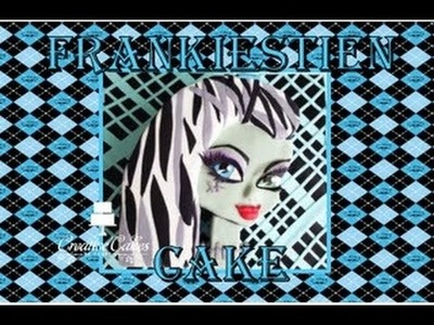 Monster High Cake Frankiestein - (How to make)