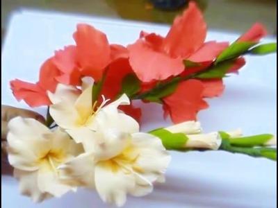 Paper Flower Gladioli. Glads. Gladiolus