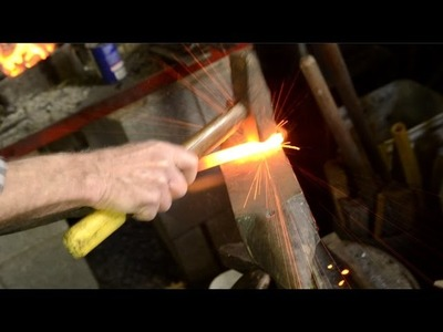 Repairing Woodworking Chisels with Blacksmith Bruce Dembling
