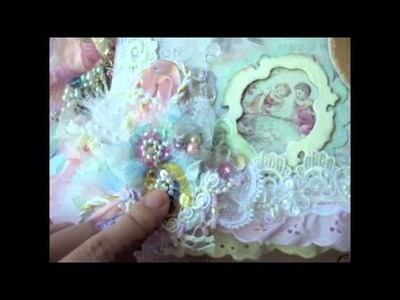 Shabby Chic Hot Air Balloon Mini Album - MUST WATCH ;)