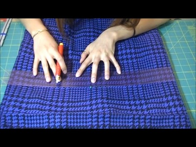 Shortening and Fitting a Thrifted Skirt D.I.Y Repurpose Fashion
