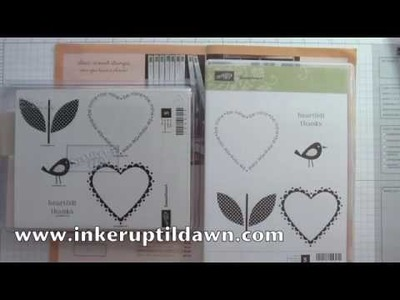 Stampin' Up! Clear Mounts with Dawn