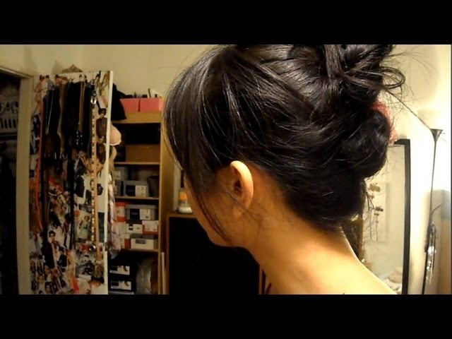 3 Minute Summer Updo for Short Hair (Works on long hair, too! ^__^)