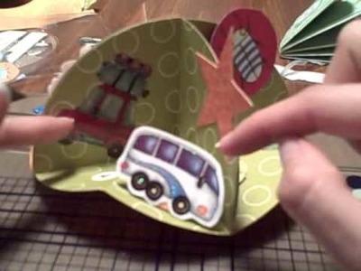 3D Circle Card  Part 3
