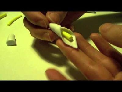 Calla Lilies Polymer Clay Tutorial