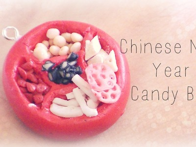 Chinese New Year Candy Box {Polymer Clay Tutorial}