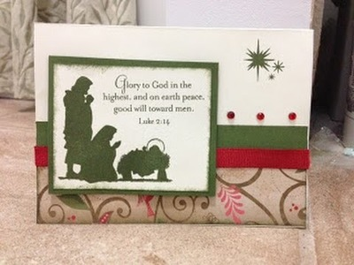 Christmas Card Tutorial CTMH