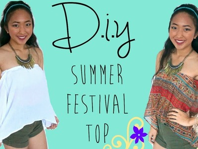 DIY Summer Festival Top