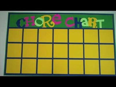 Episode 219 - Chore Chart Cricut Lite Cartridge
