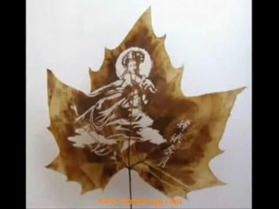 Exotic Art of Leaf Carving