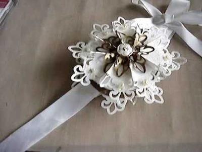 Fleur de Lis Snowflake Ornament