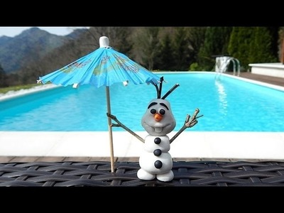 Frozen - How to Make OLAF with Polymer Clay | For Kids