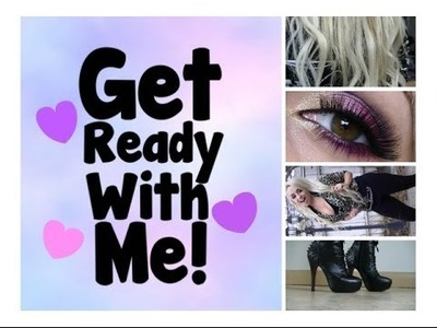 Get Ready With Me: Hair, Makeup, Outfit!