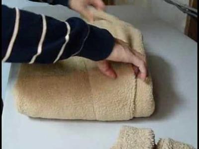 How to Fold a Bathrobe