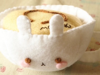How to Make a Kawaii 'Molang Cappuccino' Plushie