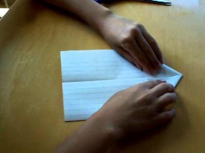 How to make a paper bird's beak