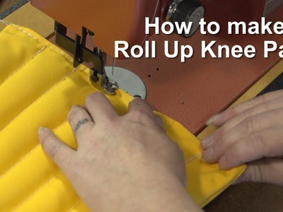 How to make a Roll Up Knee Pad