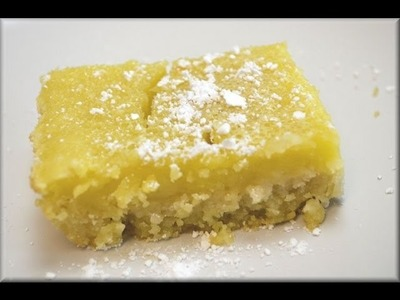 How to Make Lemon Bars - CookwithApril