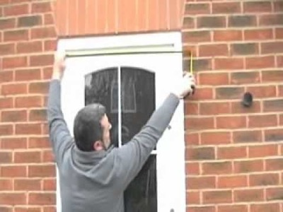 How to measure for a new composite or UPVC door