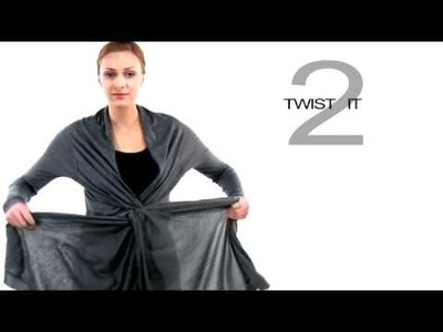 How To Wear The Front Twist Cozy