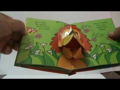 Jolly Jungle Pop-Up Fun Mini Popup Book Divertido Libro Pop-Up