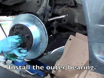 Land Cruiser, Lexus front rotor and brake replacement tutorial