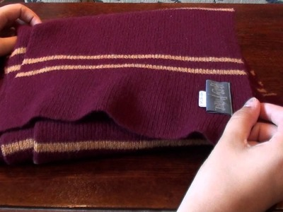 Lochaven of Scotland - Gryffindor Scarf - Harry Potter - First on Youtube!