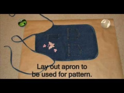Making a Child's Apron Pattern