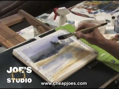 Masking Fluid and Artist Tape : Cheap Joe's Product Demonstration