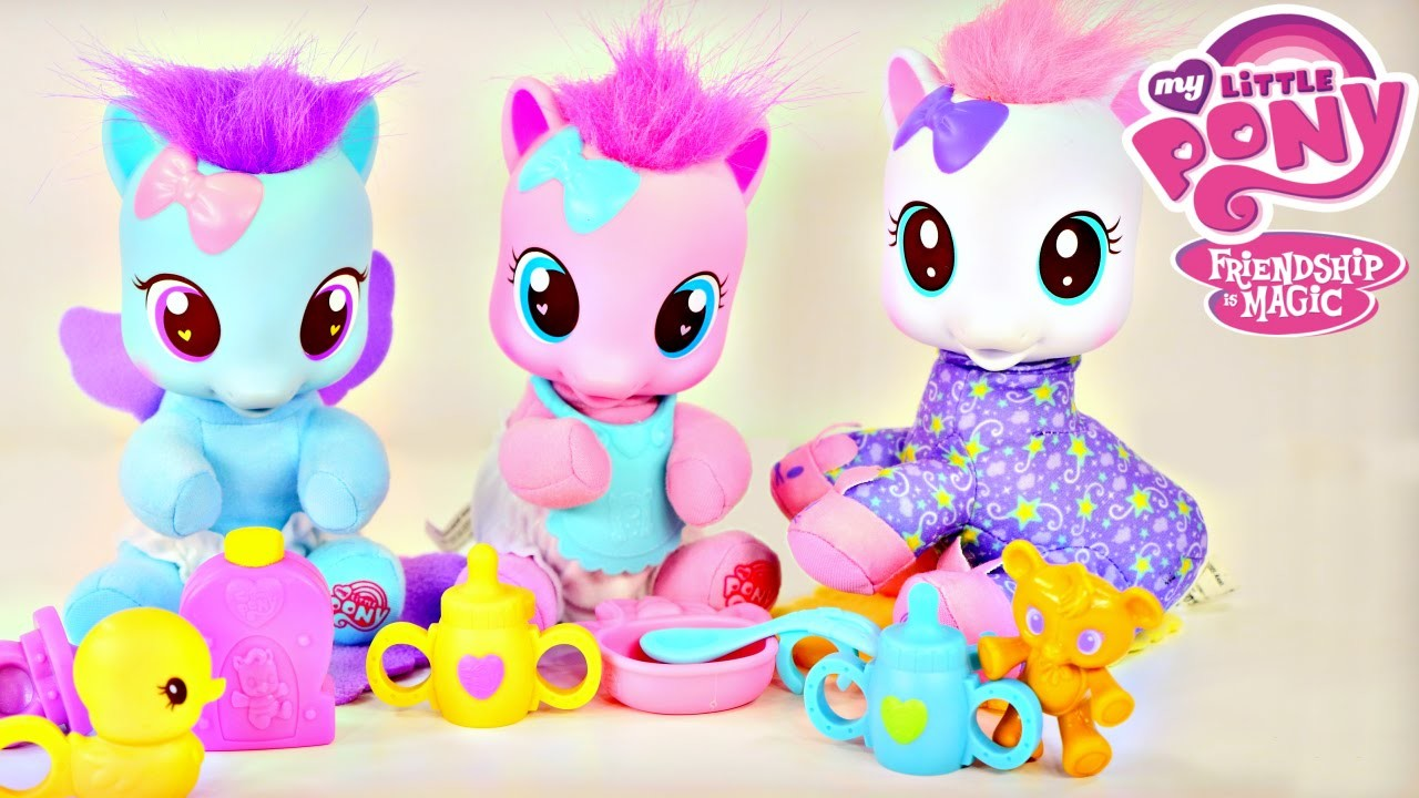 My Little Pony Baby Pinkie Pie CottonBelle Lullaby Moon MLP Toddler Ponies by Disney Cars Toy Club