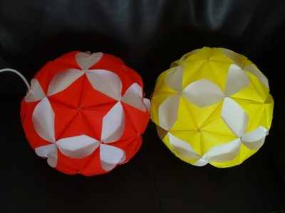 Part II : How to make paper star ball