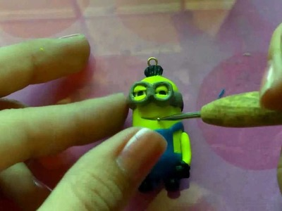 ~POLYMER CLAY TUTORIAL: DESPICABLE ME MINION!!!~