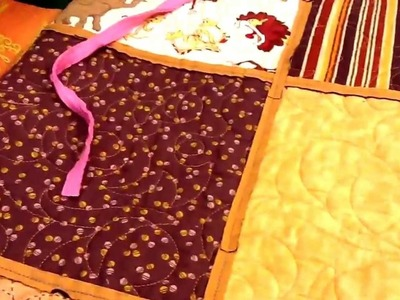 Quilting your quilt with Chenille By The Inch