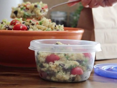 Salad Recipe - How to Make Zesty Quinoa Salad