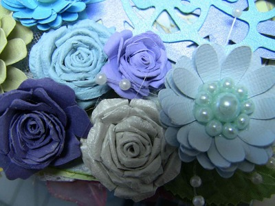 Simple, Easy Paper Flower Tutorial, Part one