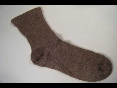 The Finished 8 1.2 Minute Sock