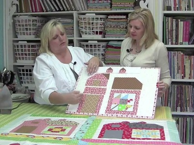 The Quilty Barn Along with Lori Holt of Bee in my Bonnet - Fat Quarter Shop