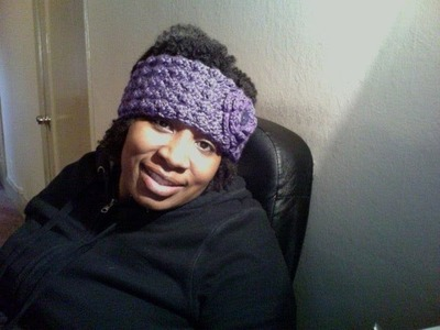 TUTORIAL TUESDAY #42 TEXTURED HEADBAND.EAR WARMER
