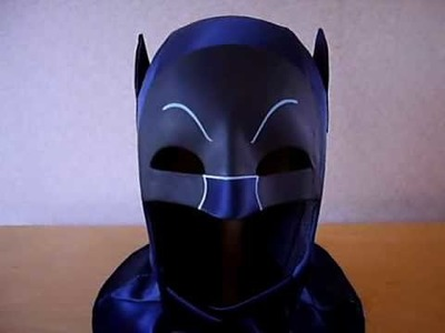 1966 ADAM WEST TV BATMAN REPLICA COWL MADE BY WILLIAMS STUDIO