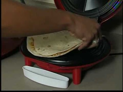 3 minute, homemade quesadillas.  Does it work