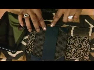 410-1 Lisa Shepard Stewart creates functional covers for tablets from placemats on It's Sew Easy