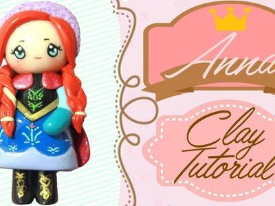 Anna Frozen Chibi | Polymer Clay Tutorial