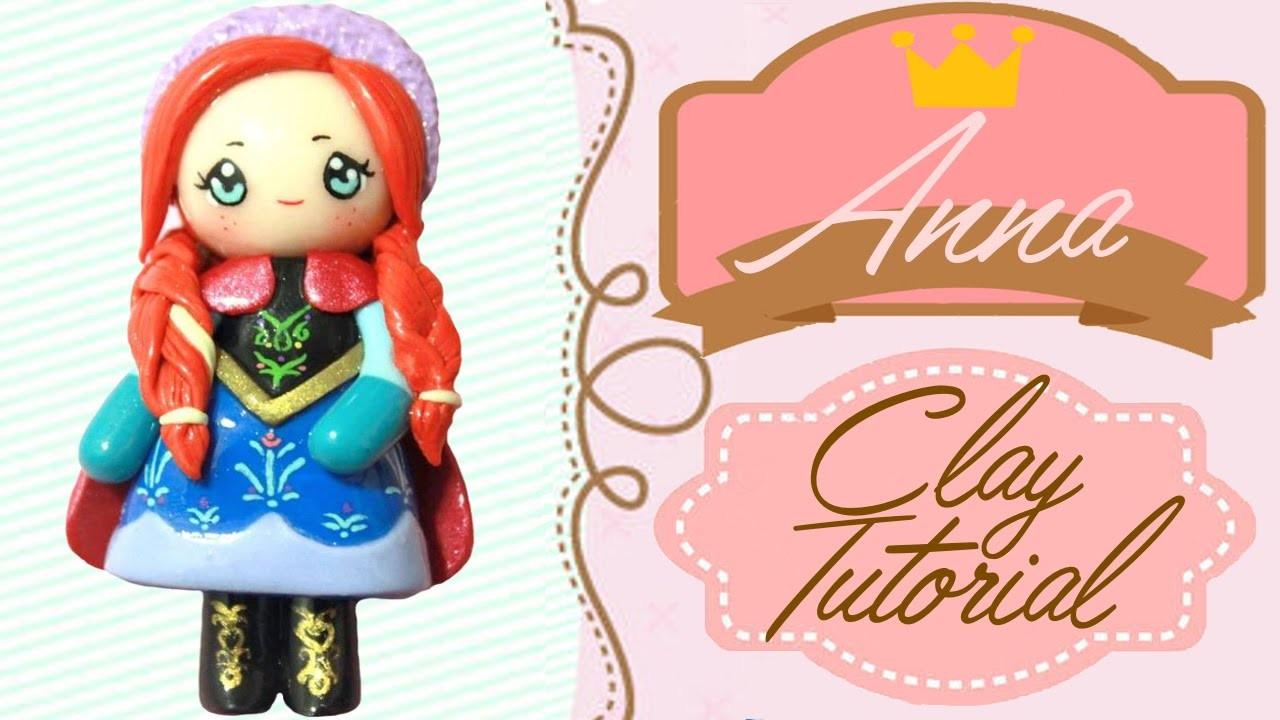 Anna Frozen Chibi   Polymer Clay Tutorial