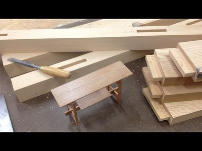 Building a Church Altar with reclaimed lumber and mortise and tenon by Jon Peters