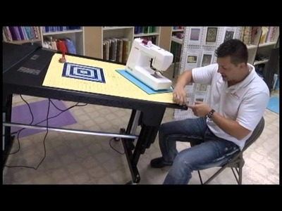Dave's Ultimate Quilting Video Part 5: Work Stations